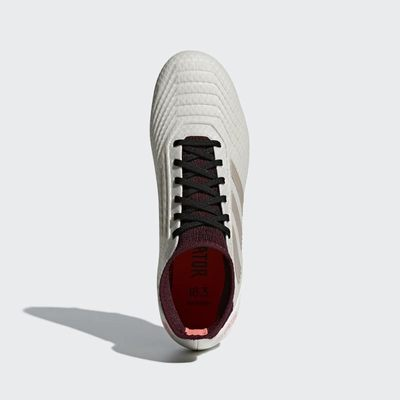 Topanky Adidas By Stella McCartney Predator 18.3 Firm Ground Damske Siva/Bordove Výpredaj | SK-AZMBW